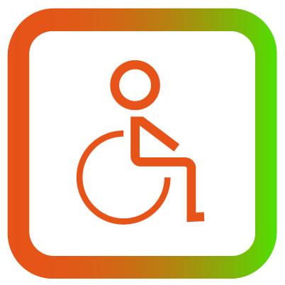 Icon rolstoel uitleen